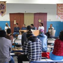 Grupo Fandango Caiçara de Ubatuba participa de encontro em Cananéia