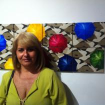 Artista plástica de Ubatuba participa de importante Salão de Artes da América Latina