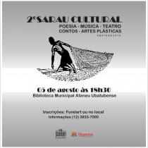 """Biblioteca municipal recebe o """"2º Sarau Cultural"""""""