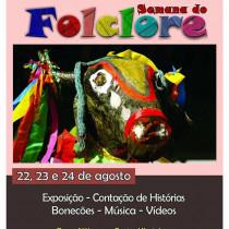 Semana do Folclore acontece na Praça Nóbrega em frente à FundArt
