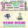 O Grito de Maria e Voz de Mulher promovem festa de 1 ano em Ubatuba