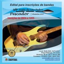 FundArt lança edital para bandas da 94ª Festa de São Pedro Pescador