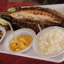 Tainha é prato principal na 94ª Festa de São Pedro Pescador em Ubatuba