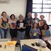 Curso de Encadernação Artesanal na biblioteca encerra seu módulo básico