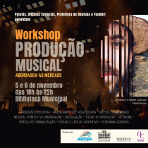 Ubatuba recebe workshop de produção musical
