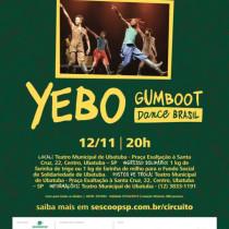 """Yebo Gumboot Dance Brasil integra programação do evento """"Negro de Todas as Cores"""""""