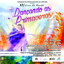 """Oficina de Dança FundArt apresenta o espetáculo """"Dançando as Primaveras"""""""
