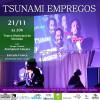 """Peça teatral """"Tsunami  empregos"""" é atração no Teatro Municipal de Ubatuba"""