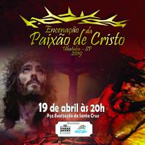 Encenação da Paixão de Cristo é destaque do feriado de Páscoa em Ubatuba