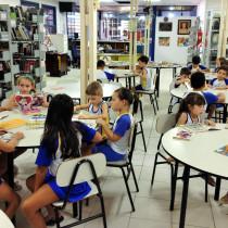 Mais de 270 alunos da Escola Criar-te visitam a Biblioteca Municipal