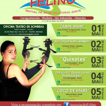 Festival de Artes do Litoral Norte— FELINO acontece em maio