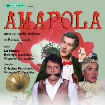"Teatro Municipal de Ubatuba recebe o espetáculo: ""Amapola – uma comédia Italiana"""