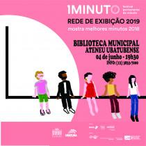 Biblioteca Municipal recebe exibições do Festival do Minuto 2019