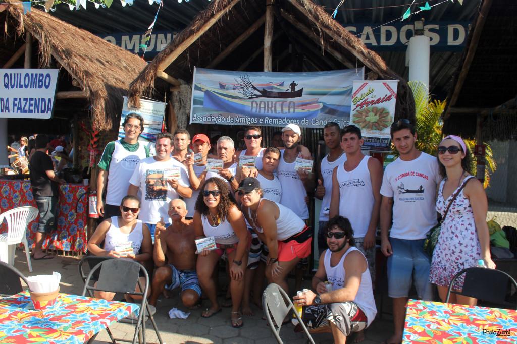 Associação dos Remadores de Canoa Caiçara (Aarca) de Ubatuba