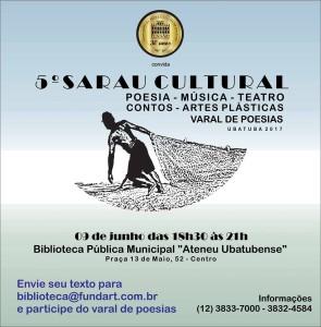 5 sarau cultural